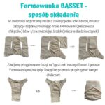Formowanka Basset M na napy 6-11 kg – LITTLE BIRDS DIAPERS